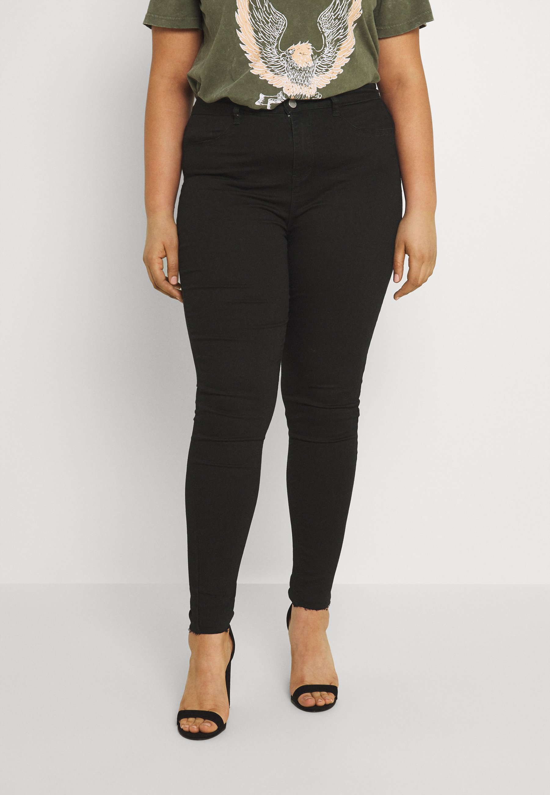 Women LAWLESS HIGHWAISTED SUPERSOFT - Jeans Skinny Fit