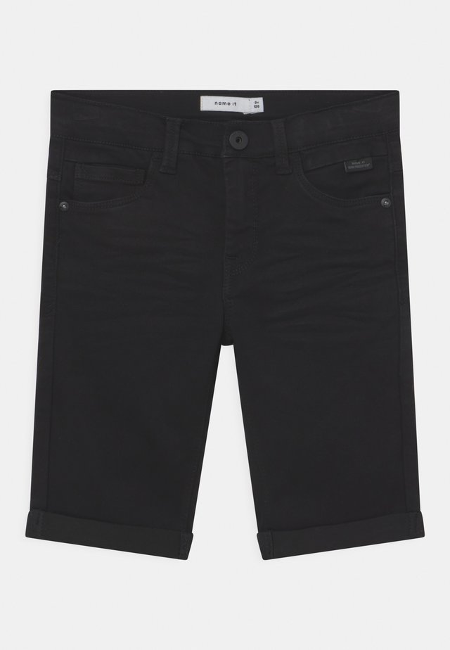 NKMSOFUS  - Shorts di jeans - black denim
