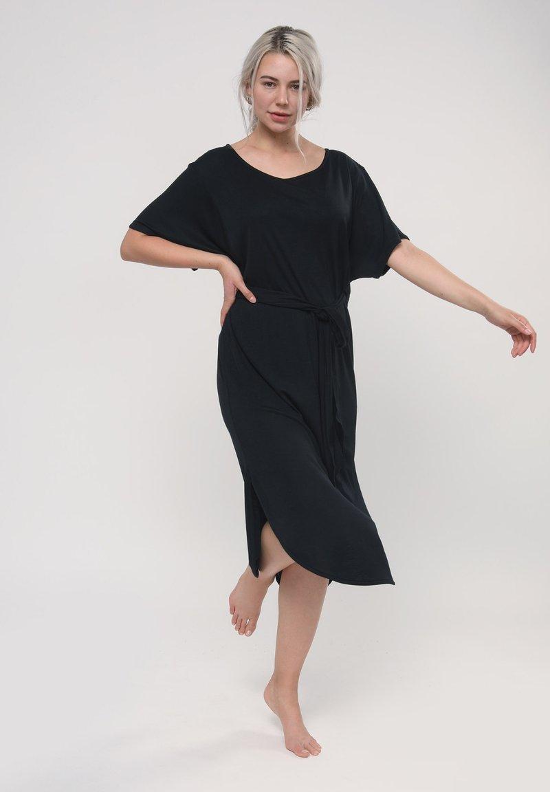 LOVJOI - Jersey dress - black