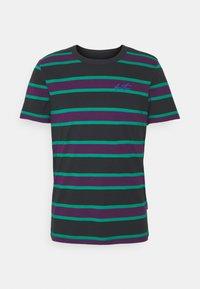 YOURTURN - UNISEX - Print T-shirt - green/purple - 0