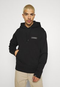 Napapijri The Tribe - PATCH UNISEX - Kapuzenpullover - black - 0