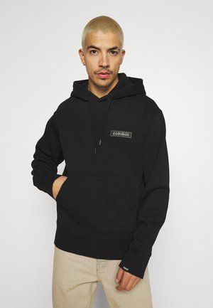 PATCH UNISEX - Kapuzenpullover - black