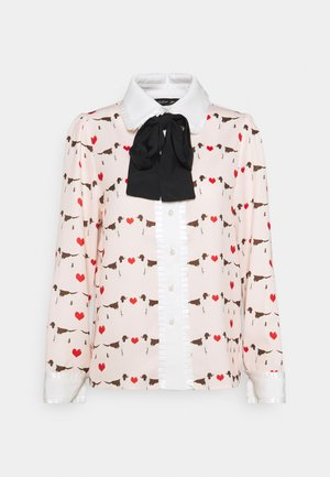 PUPPY LOVE BOW SHIRT - Paitapusero - pink