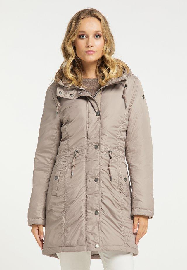 Płaszcz zimowy - steingrau