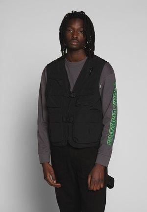 TACTICAL VEST - Waistcoat - black