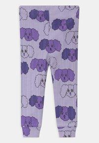 Mini Rodini - FLUFFY DOG UNISEX - Leggings - Trousers - purple - 1