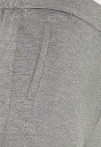 ONLY - ONLPOPTRASH LIFE STRIKE PANT - Trousers - medium grey melange - 5