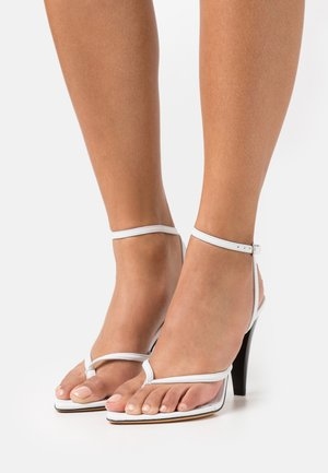 ANOUK - High heeled sandals - white