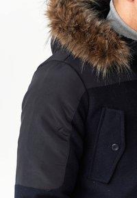 INDICODE JEANS - Winter coat - navy mix - 7