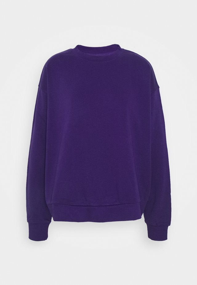HUGE CROPPED - Sweater - purple