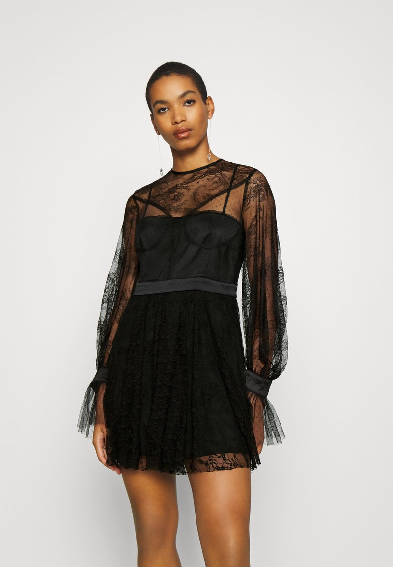Alice McCall - LOVE MINI DRESS - Koktejlové šaty / šaty na párty - black