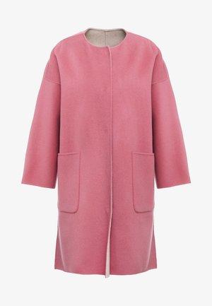 DRAVA - Classic coat - altrosa