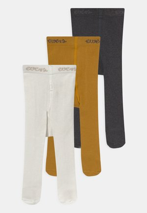BASIC 3 PACK UNISEX - Tights - multi-coloured