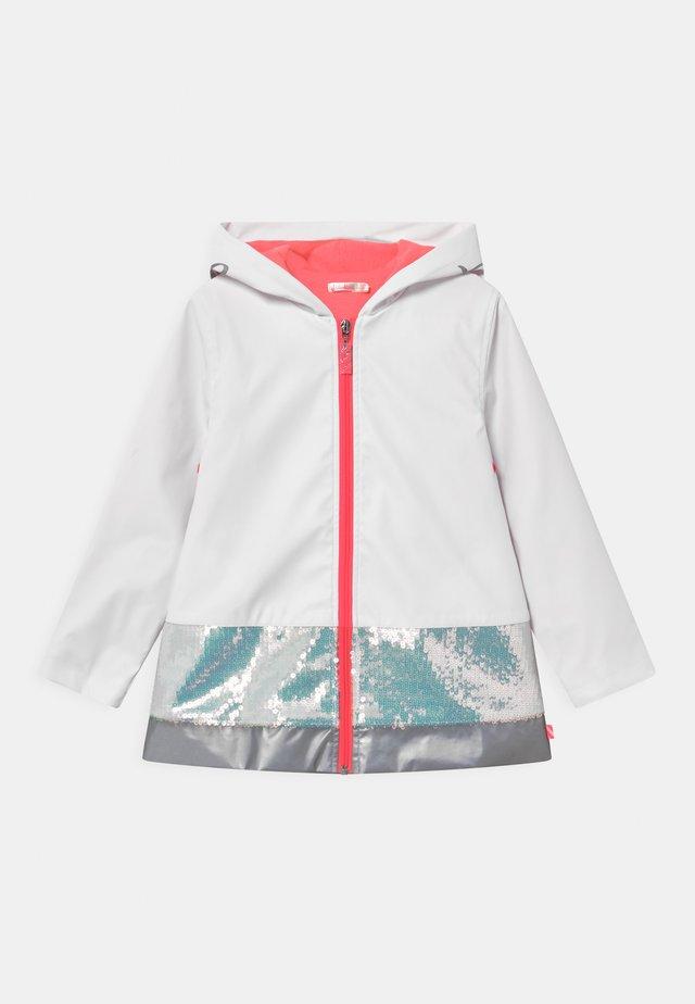 RAIN  - Impermeable - white
