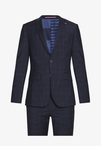 Tommy Hilfiger Tailored - WINDOWPANE SLIM FIT SUIT - Oblek - blue - 8