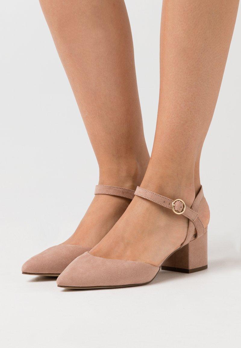 New Look Wide Fit - WIDE FIT SAMIRA - Klassiske pumps - nude