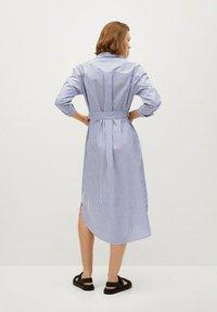 Mango - Shirt dress - azul - 2