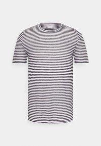 120% Lino - SHORT SLEEVE - Print T-shirt - white - 4