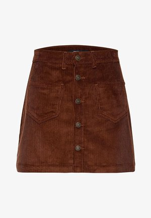 ONLAMAZING SKIRT - A-line skirt - coffee bean