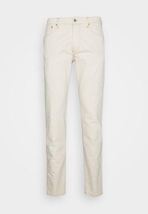 JJIGLENN JJROYAL SELVEDGE - Slim fit jeans - ecru