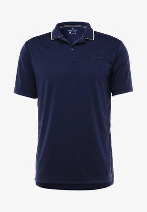 DRY TEAM - Camiseta de deporte - obsidian/white/white