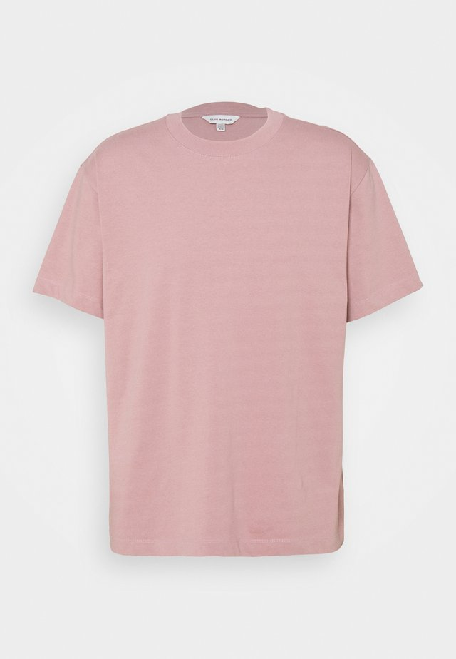 RELAXED TEE - Jednoduché triko - mauve
