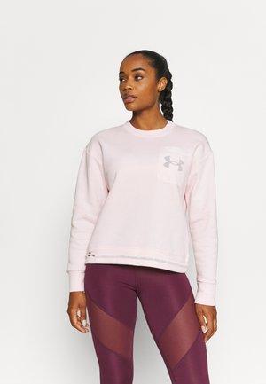 RIVAL CREW - Sweatshirts - pink