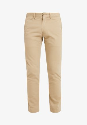SLIM FIT BEDFORD PANT - Pantaloni - luxury tan