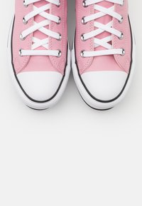 Converse - CHUCK TAYLOR ALL STAR PLATFORM LAYER - High-top trainers - lotus pink/white/black - 5