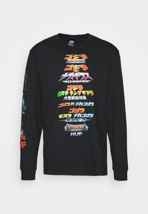 GODZILLA VERSUS TEE - Long sleeved top - black
