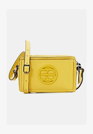 FRAN SMALL - Across body bag - brass yellow
