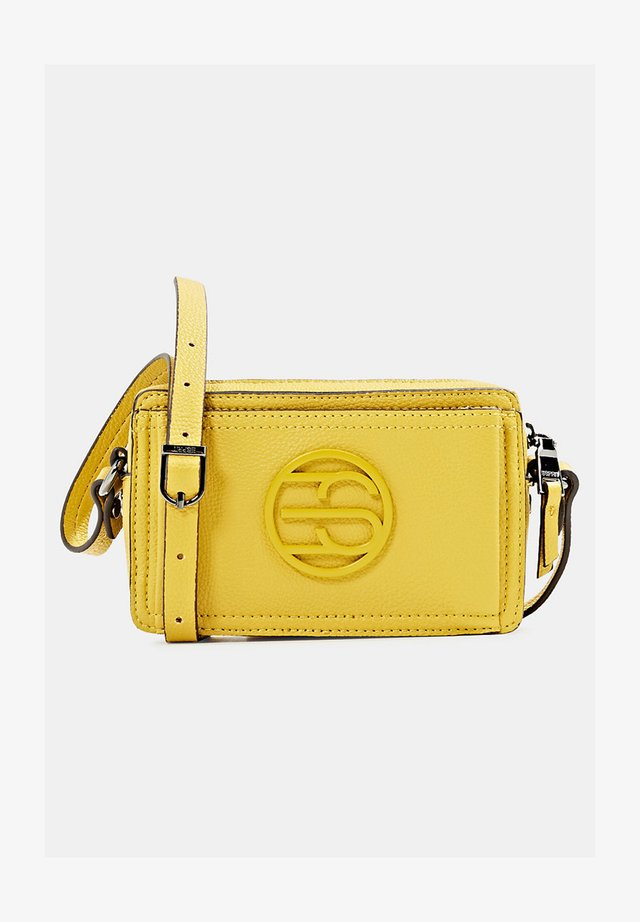 FRAN SMALL - Across body bag - brass yellow