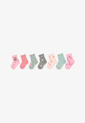 SÖCKCHEN 7ER-BOX ERDBEEREN - Socks - rosa
