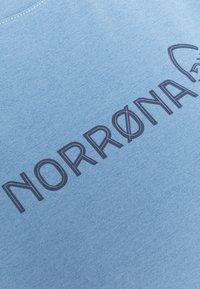Norrøna - TECH - T-shirt imprimé - coronet blue - 2