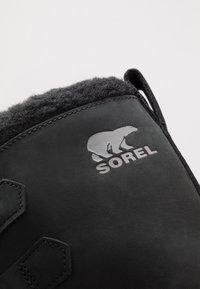 Sorel - CARIBOU - Winter boots - black - 6