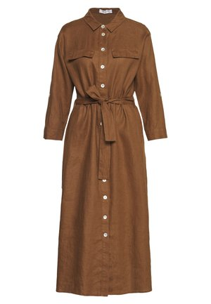 Robe chemise - biscuit