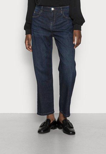 LANI MIDNIGHT - Straight leg -farkut - deep blue washed