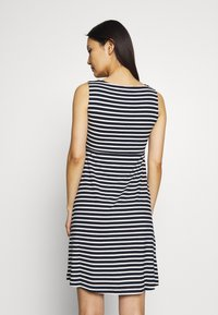 TOM TAILOR - Jersey dress - navy/stripe - 2