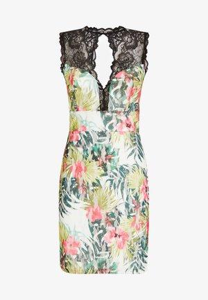 SPITZENKLEID MIT ALLOVER-PRINT - Sukienka letnia - gemustert