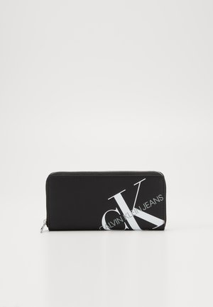 ZIP AROUND - Wallet - black