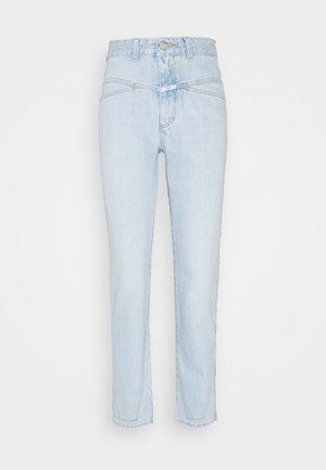 PEDAL PUSHER - Straight leg jeans - light blue