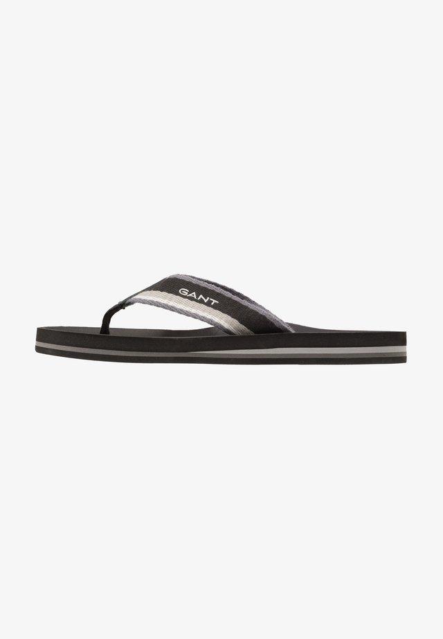 PALMWORLD - T-bar sandals - black