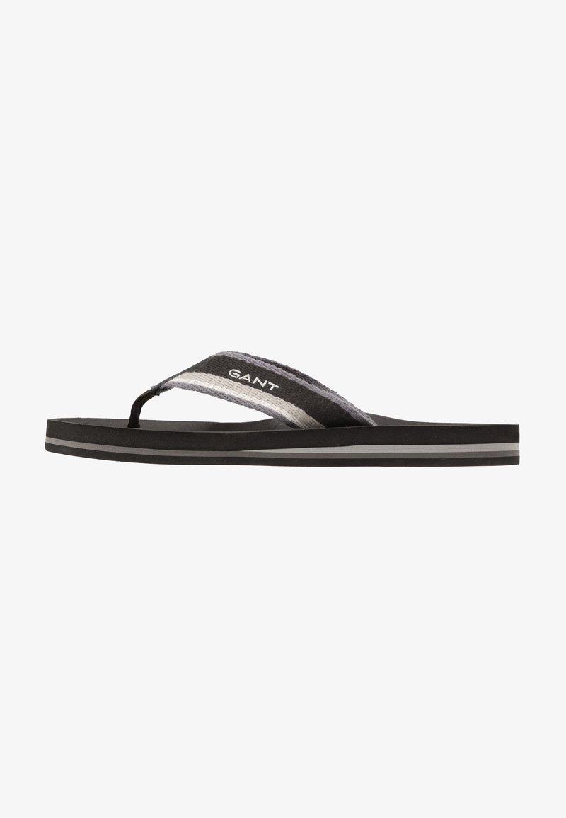 GANT - PALMWORLD - T-bar sandals - black