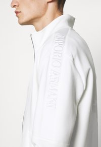 Emporio Armani - Zip-up sweatshirt - white - 5