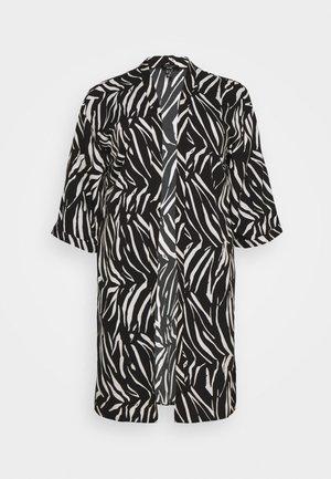 ZEBRA KIMONO - Summer jacket - black