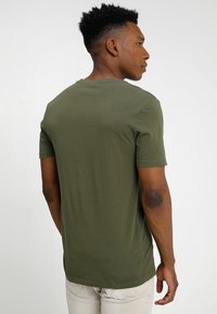 Benetton - Basic T-shirt - khaki - 2