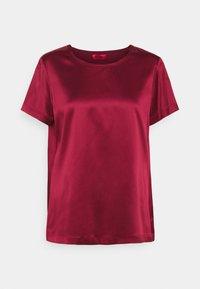 MAX&Co. - FLAVIA - Jednoduché triko - burgundy - 0