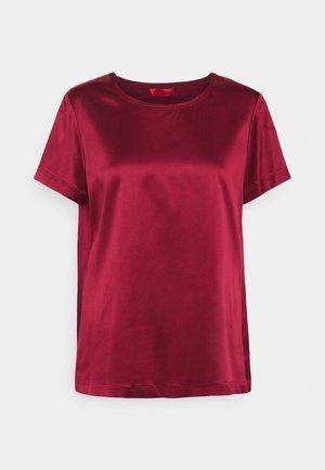FLAVIA - Basic T-shirt - burgundy