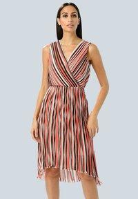 Alba Moda - Day dress - rot/koralle/weiß - 0