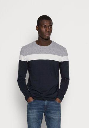 Long sleeved top - grey/dark blue